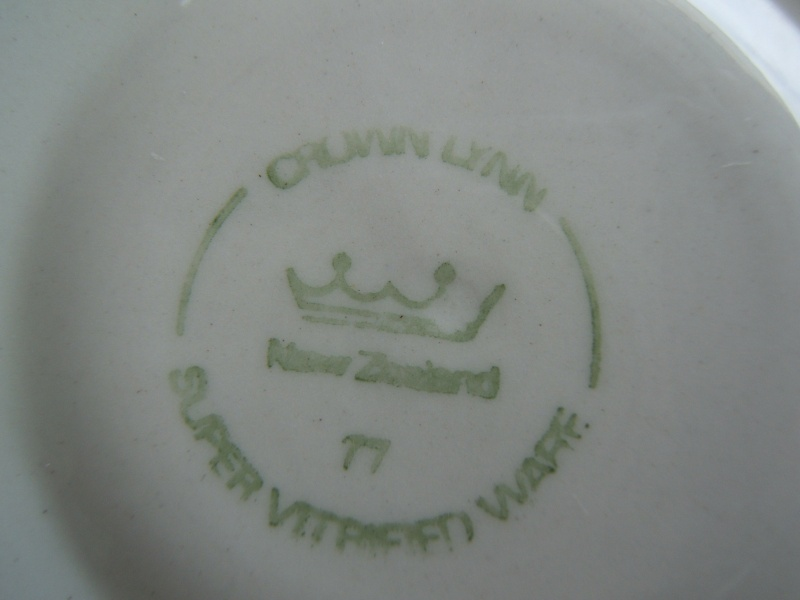 What do the numbers on Vitrified and Supervitried ware represent?  Answer - The Year made! Dscf4138