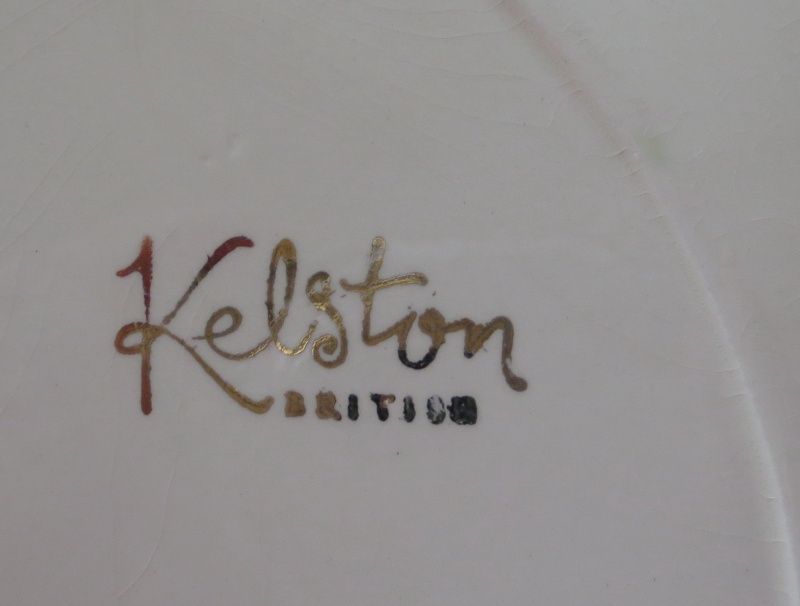 Elegant gravy boat saucer Kelston British ~ Kelsto11