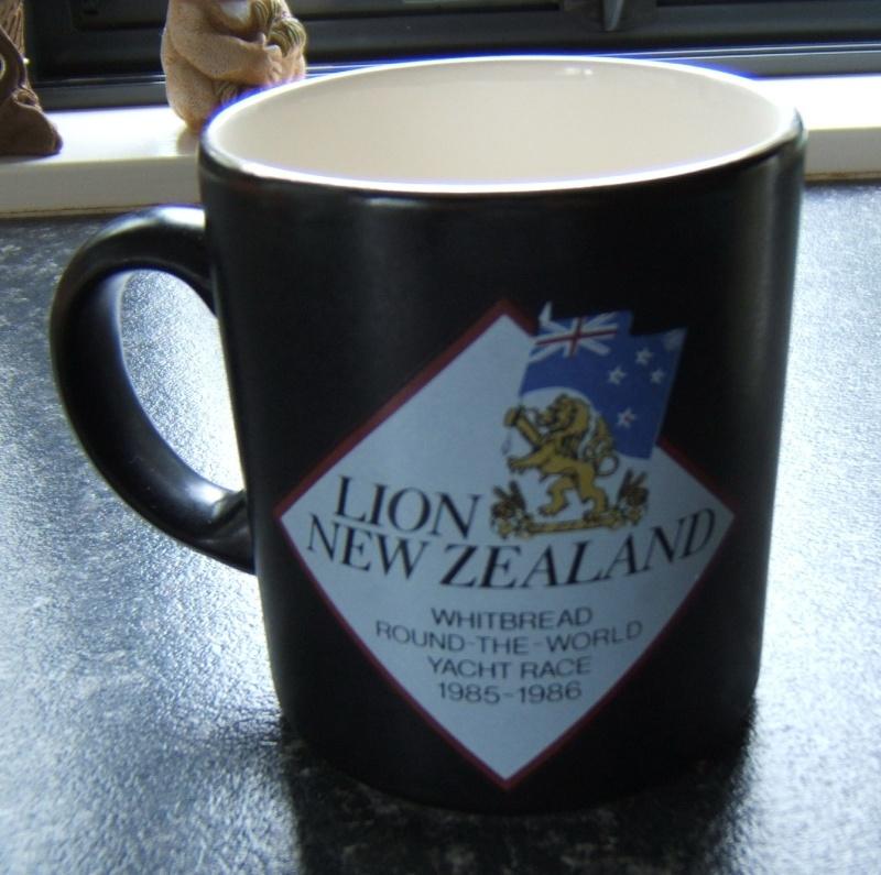 Lion NZ mug Whitbread Round the World Yacht race 1985-86 Lion_n10