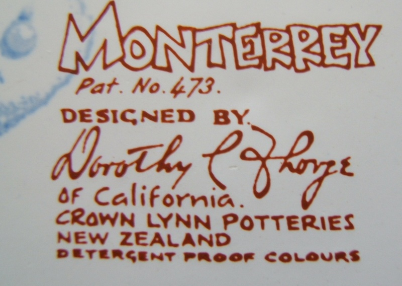 Monterrey d473 by Dorothy Thorpe for Crown Lynn Monter11