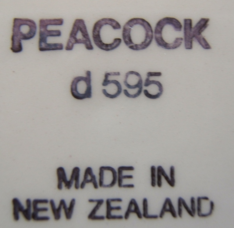 My gorgeous Peacock plate d595 Peacoc15
