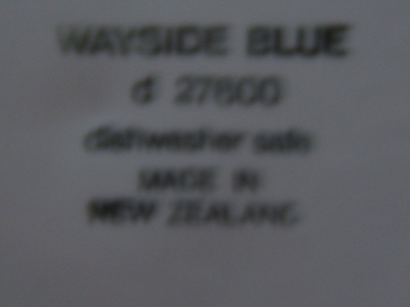 Wayside Blue d27600 Backstamp Waysid12