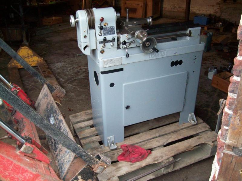 Portique  CNC  PFE1000PX + socle et console PC - Page 4 100_1111
