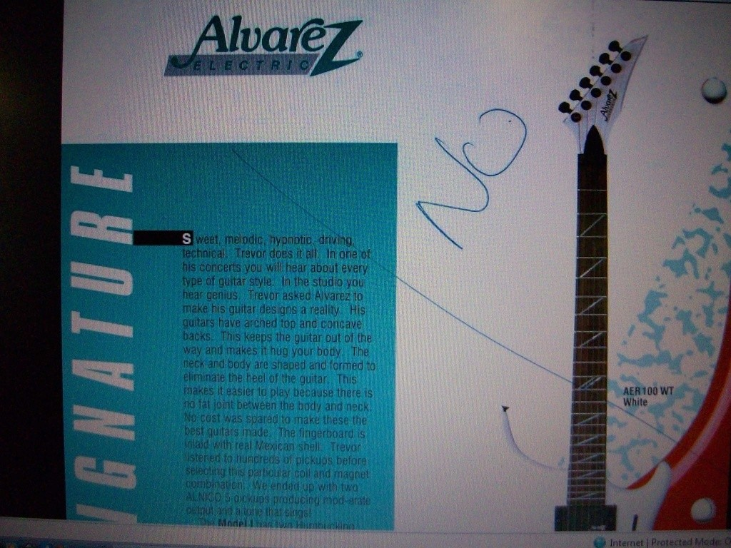 Alvarez Dana II with the tri-force pickup 100_2513