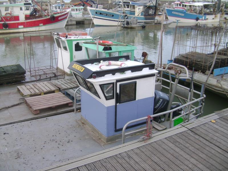 Barge , Chaland , Plate , Ponton et Lasse ostréicole. Dsc06764