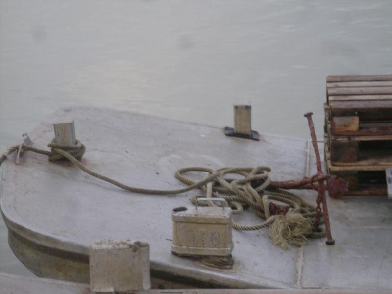 Barge , Chaland , Plate , Ponton et Lasse ostréicole. Dsc06766