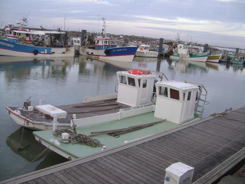 Barge , Chaland , Plate , Ponton et Lasse ostréicole. Dsc06770