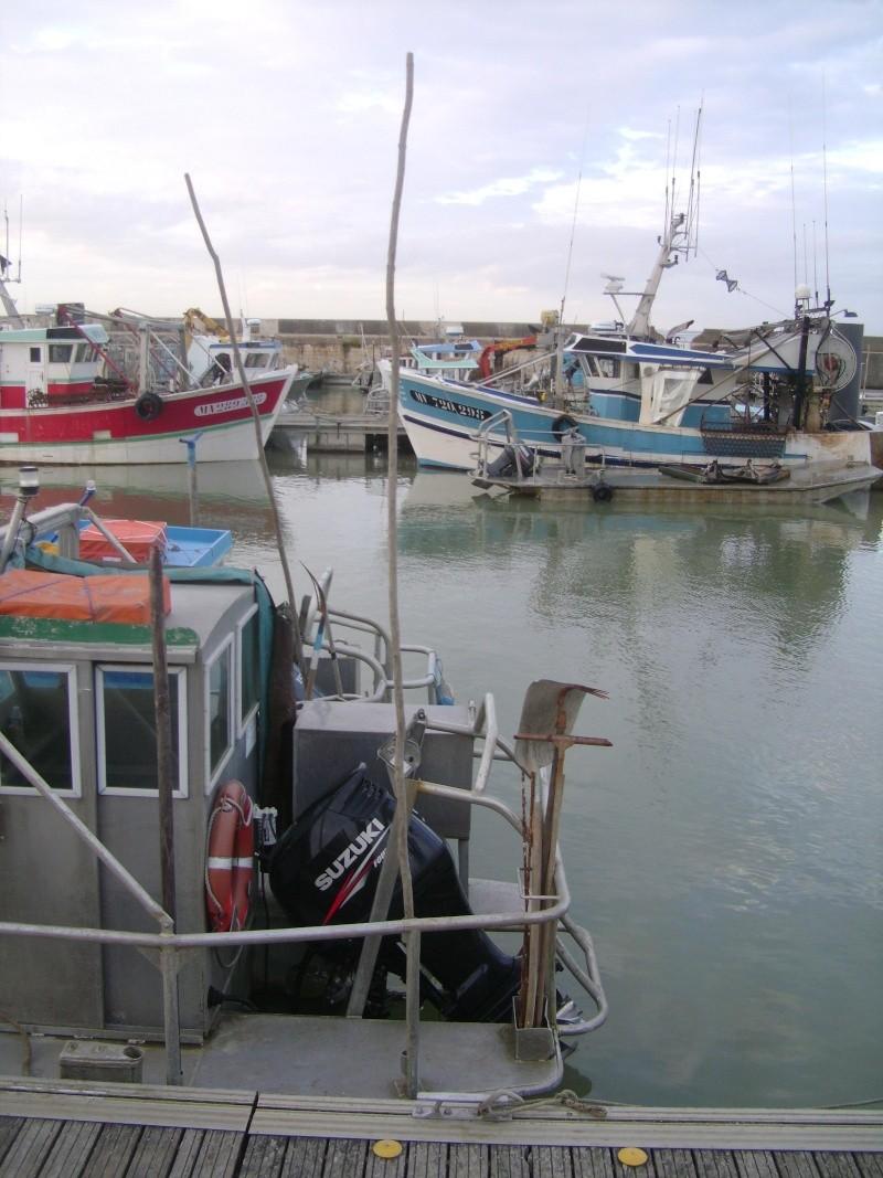 Barge , Chaland , Plate , Ponton et Lasse ostréicole. Dsc06771