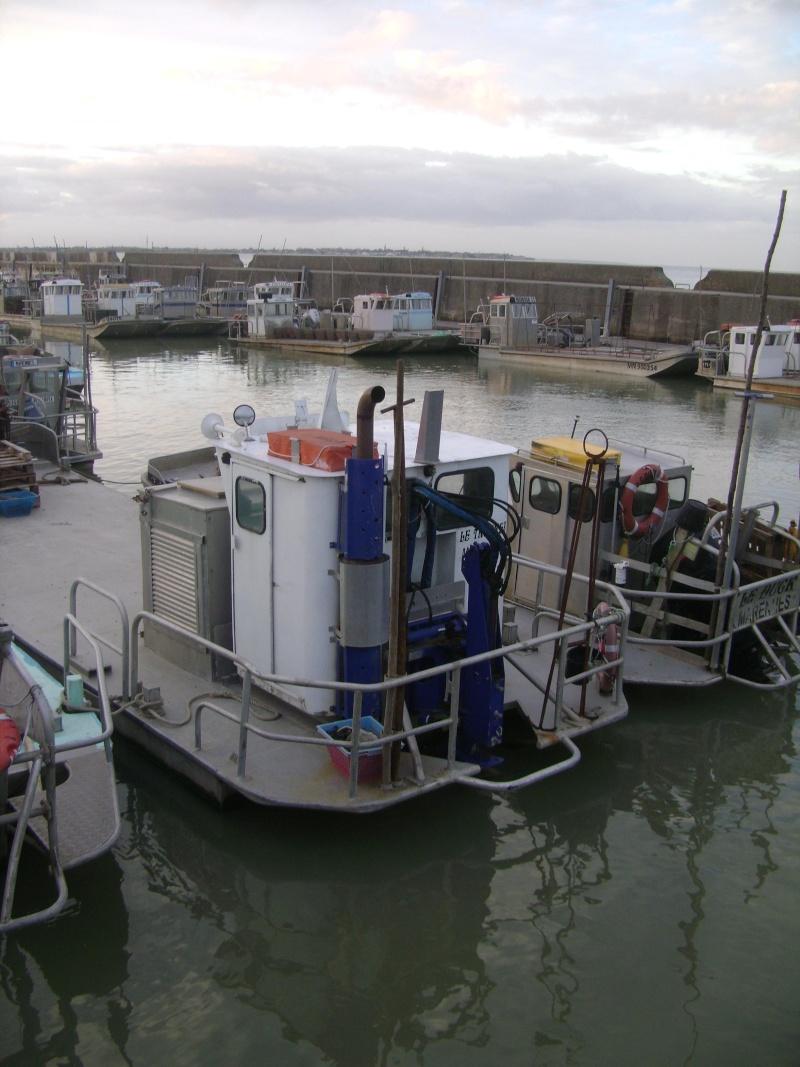 Barge , Chaland , Plate , Ponton et Lasse ostréicole. Dsc06774