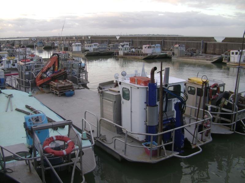 Barge , Chaland , Plate , Ponton et Lasse ostréicole. Dsc06776