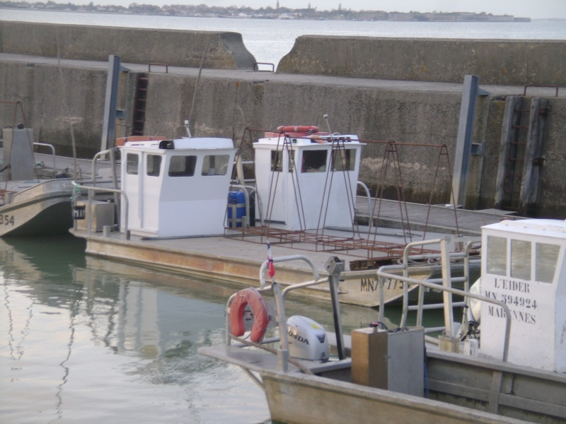 Barge , Chaland , Plate , Ponton et Lasse ostréicole. Dsc06778