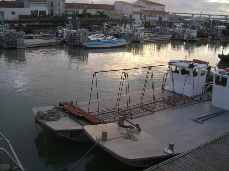 Barge , Chaland , Plate , Ponton et Lasse ostréicole. Dsc06780