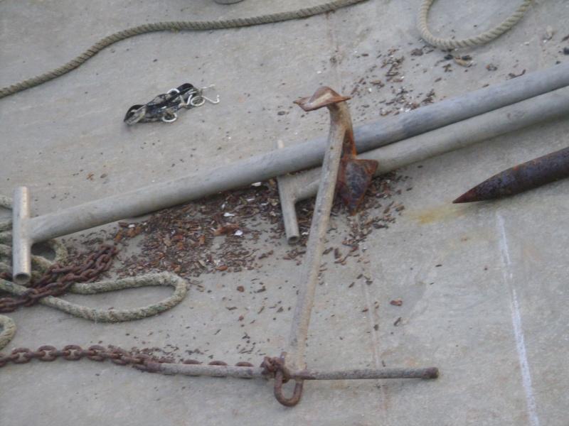 Barge , Chaland , Plate , Ponton et Lasse ostréicole. Dsc06783