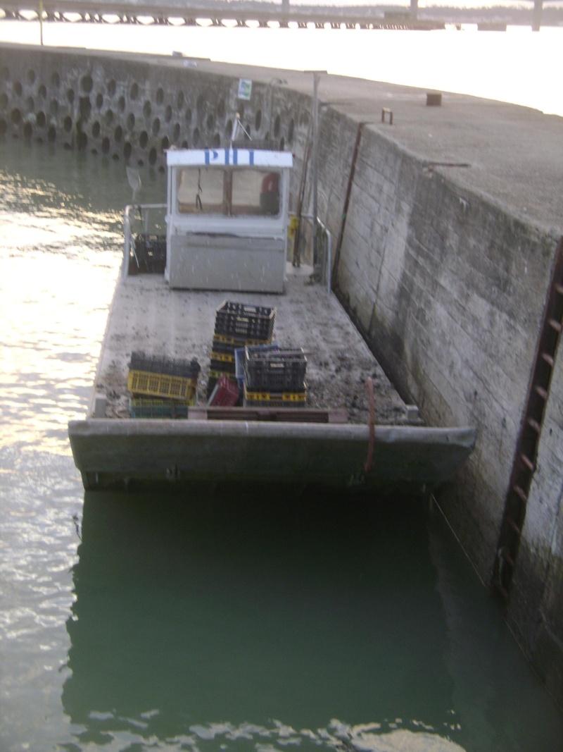 Barge , Chaland , Plate , Ponton et Lasse ostréicole. Dsc06820