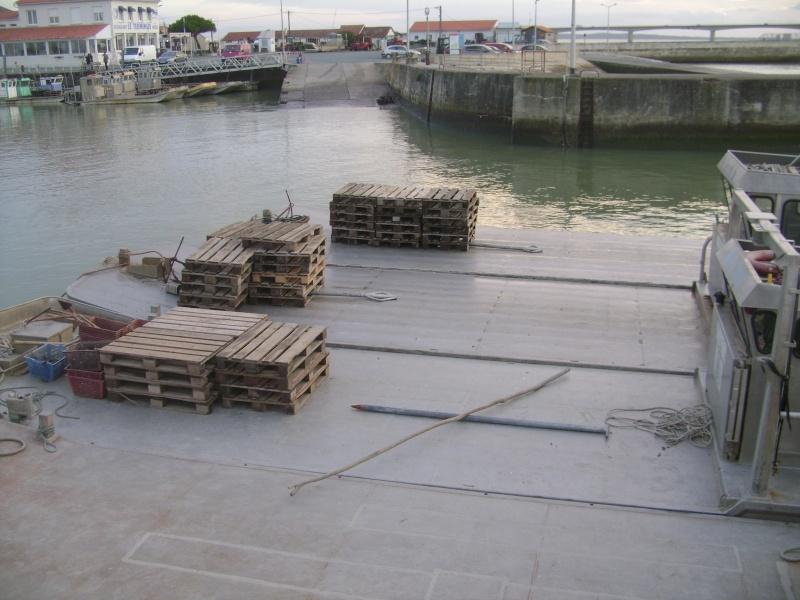 Barge , Chaland , Plate , Ponton et Lasse ostréicole. Dsc06825