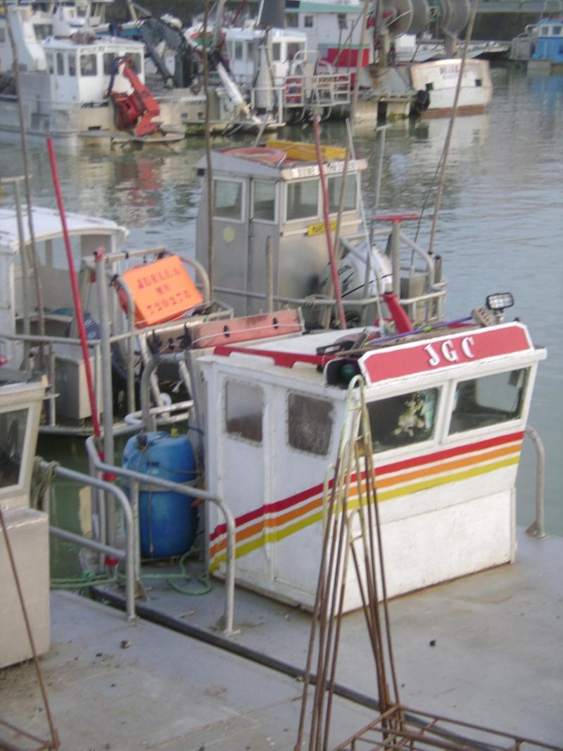 Barge , Chaland , Plate , Ponton et Lasse ostréicole. Dsc06828