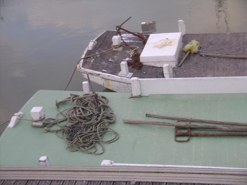 Barge , Chaland , Plate , Ponton et Lasse ostréicole. Dsc06846