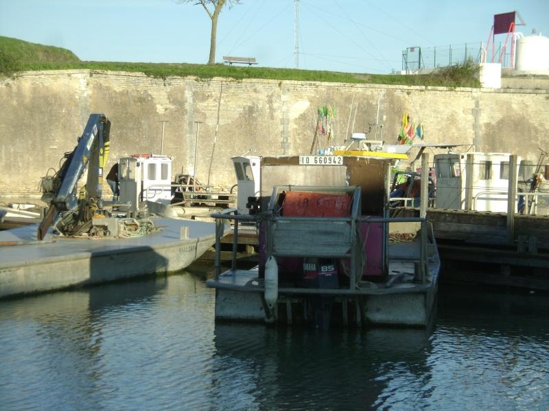 Barge , Chaland , Plate , Ponton et Lasse ostréicole. Dsc06860