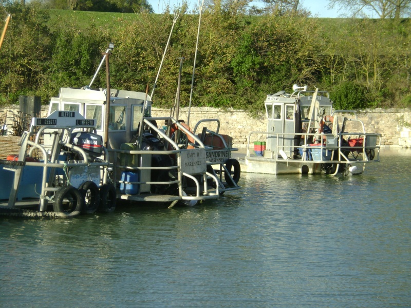 Barge , Chaland , Plate , Ponton et Lasse ostréicole. Dsc06862