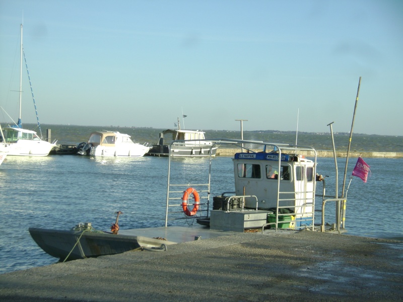Barge , Chaland , Plate , Ponton et Lasse ostréicole. Dsc06868