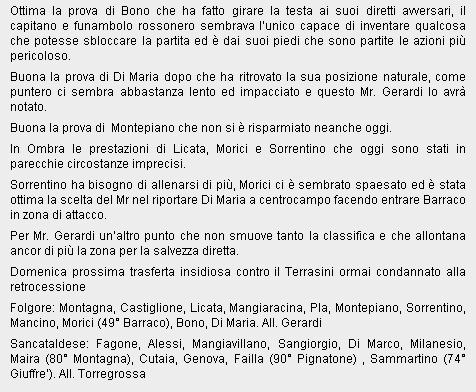 Campionato 21° Giornata:Folgore selinunte - Sancataldese 1-1 Folgor18