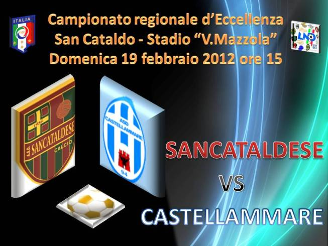 Campionato 22° Giornata: Sancataldese - Castellammare 1-0 San-ca11
