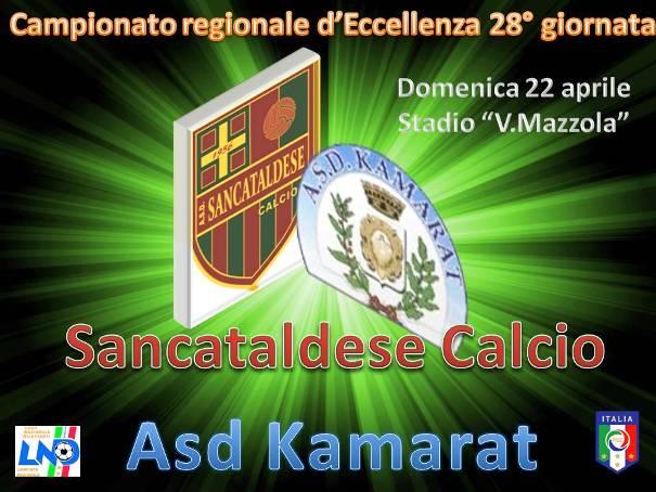 Campionato 28° Giornata: Sancataldese - kamarat 1-1 Sankam10