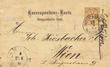 Österreichische Stempel ab 1850 Oester11