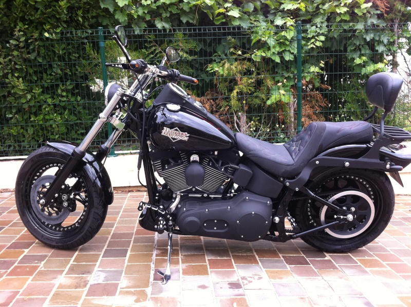 Mes modifs 1450 FXSTB - Page 2 Img_0410