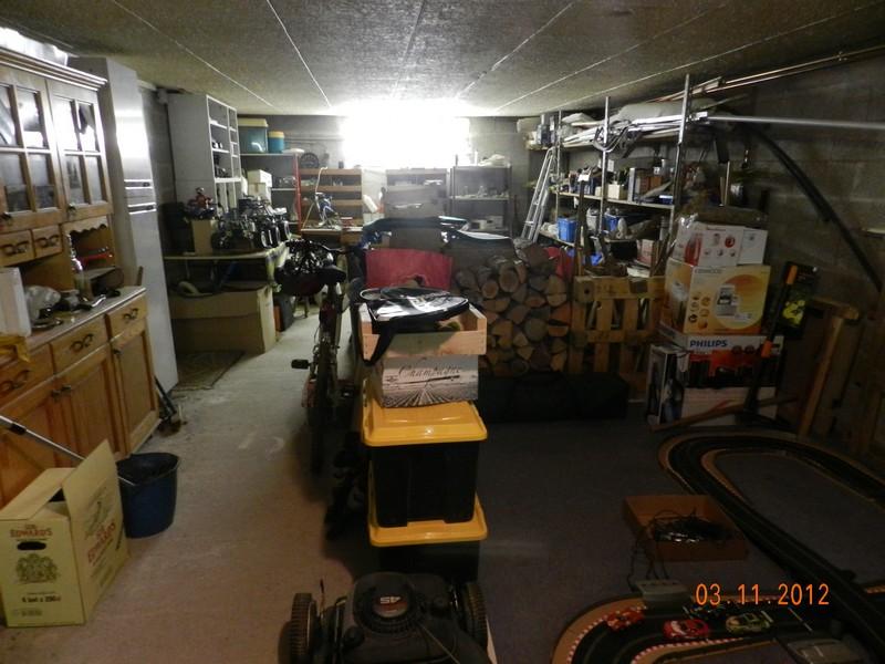 Comment est votre atelier en hiver !!! Garage11