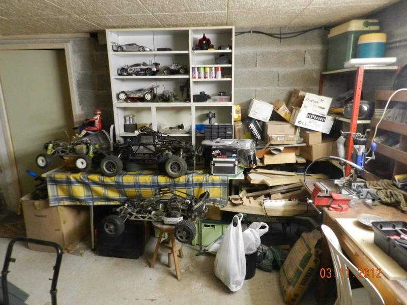 Comment est votre atelier en hiver !!! Garage14