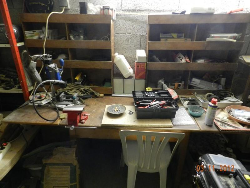 Comment est votre atelier en hiver !!! Garage15