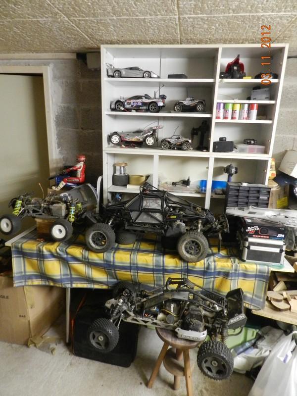 Comment est votre atelier en hiver !!! Garage16