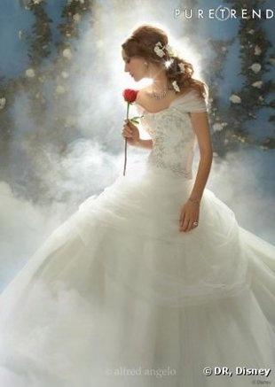 Disney se lance dans la robe de mariée 56645410