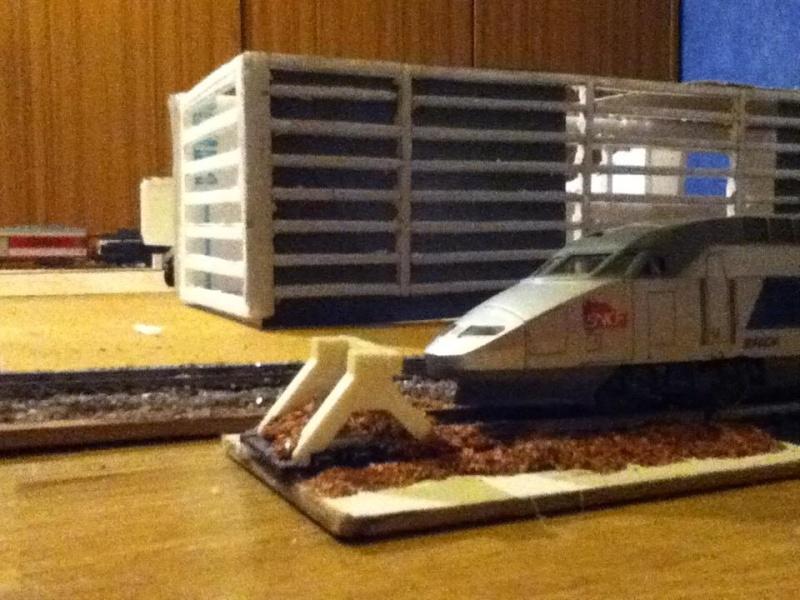 maquette férrovière et aéroport 410