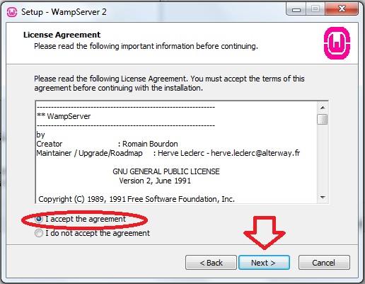 Cara Instal WampServer 2.2 Wamp210