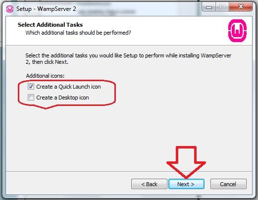 Cara Instal WampServer 2.2 Wamp410