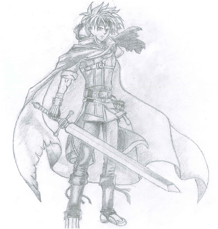 My Epic Drawing Of Ike From Fire Emblem. U mad? Drawin11