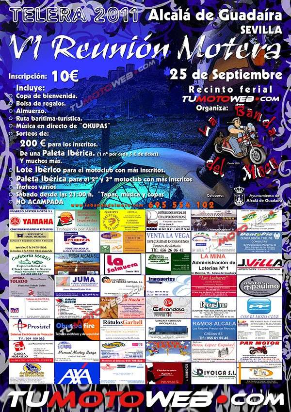 Concentraniones para el mes de Septiembre 2011. Cartel16