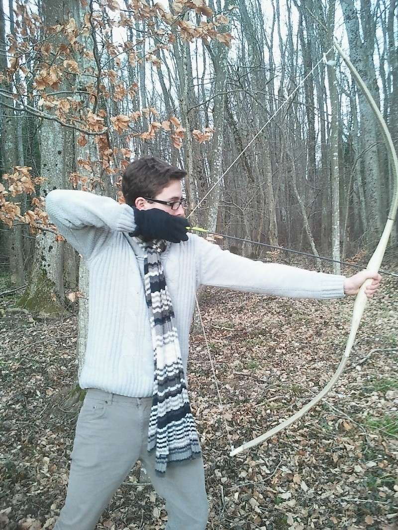 [Chasse / Archerie] Fabrication d'un arc en vie sauvage Photo110