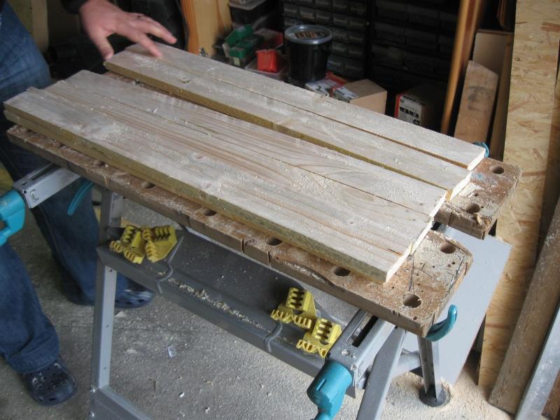 Chevalet à bois. Img_2310