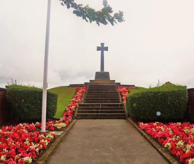 Hakon's Mound at Preesall, West Lancashire. Preesa10