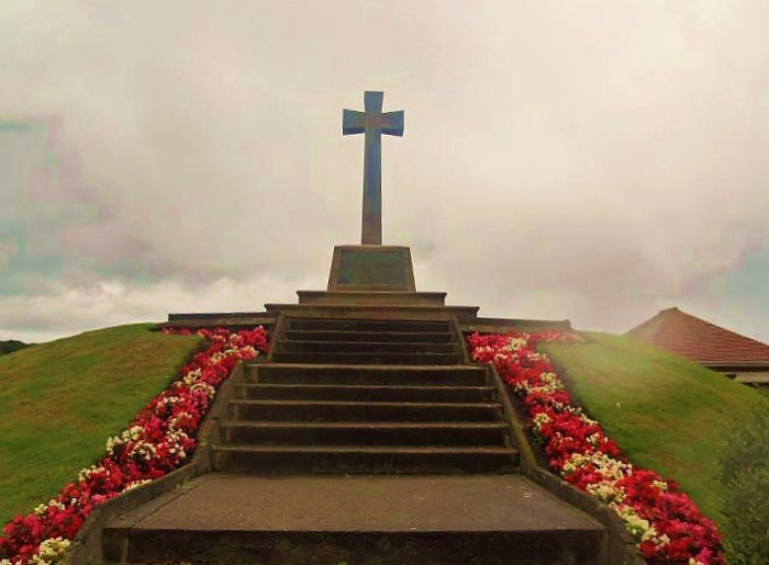 Hakon's Mound at Preesall, West Lancashire. Preesa12