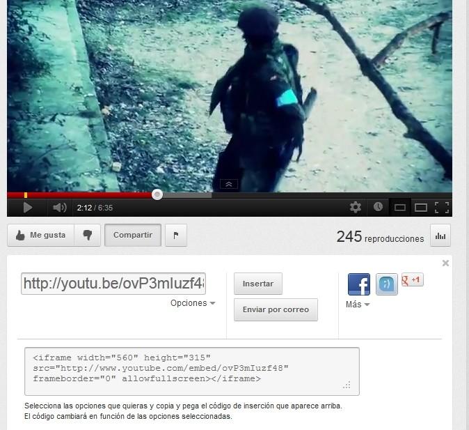 Insertar Videos / Fotos en el foro. Youtub12