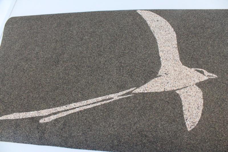 TABLEAUX cartes postales avec du sable de la Réunion Img_0510