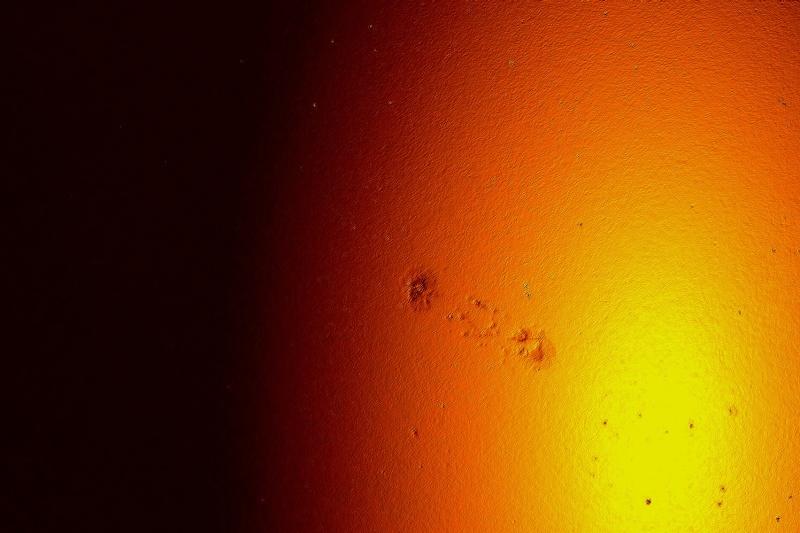 PETITES TACHES  solaires d'aujourd hui , capteur très sale  Mmmmmm11