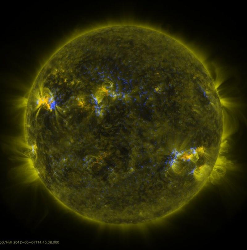 petite image du soleil vue par la nasa aujourd'hui Soleil23
