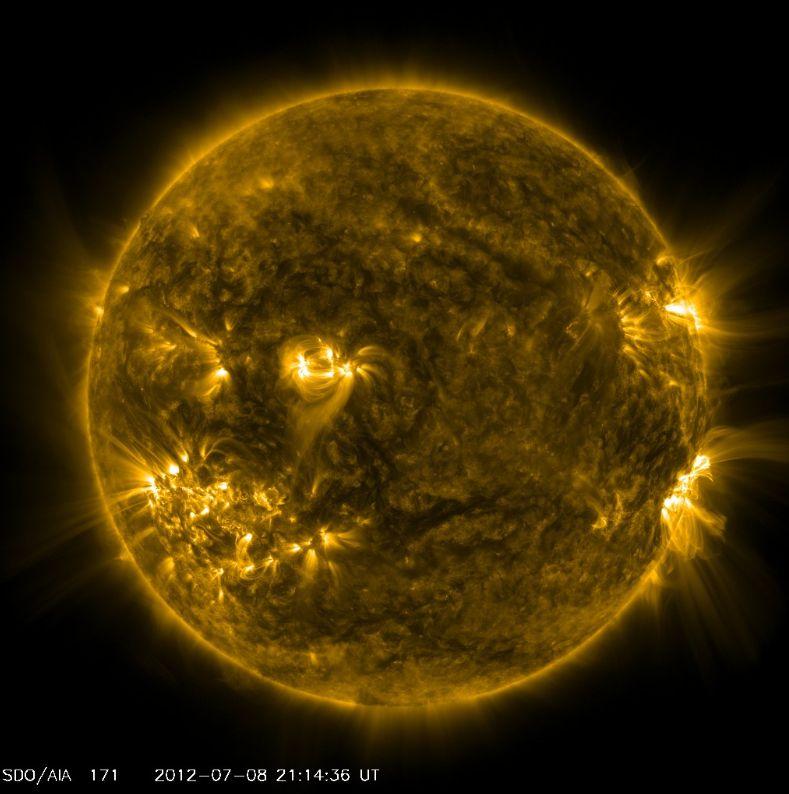 activite solaire aujourd'hui Soleil30