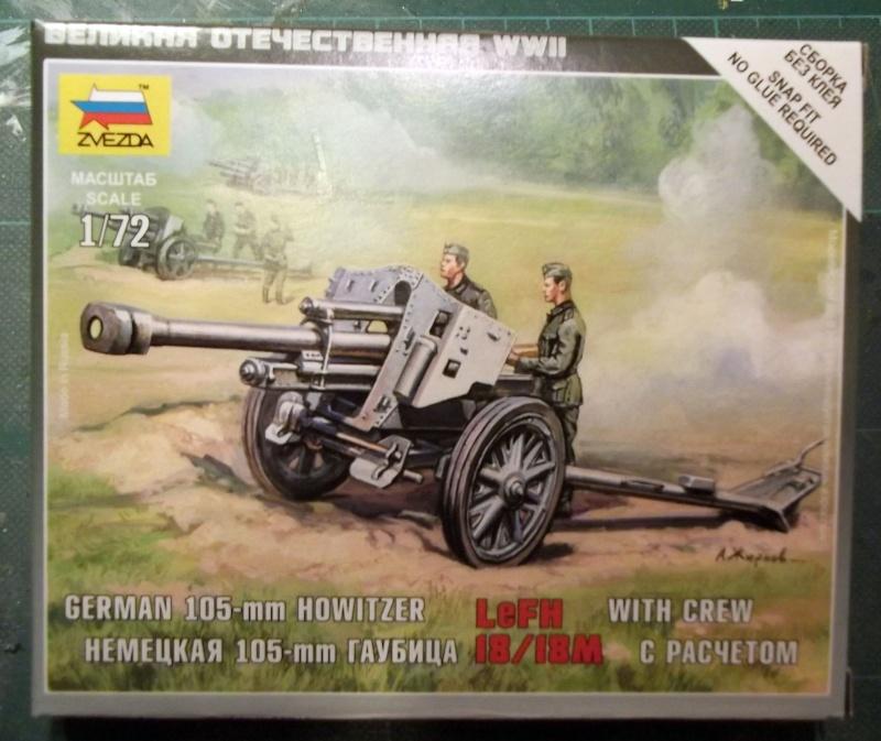 [Zwezda] Howitzer 105mm LeFH 18/18 Z_105_10