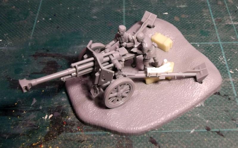 [Zwezda] Howitzer 105mm LeFH 18/18 Z_105_20